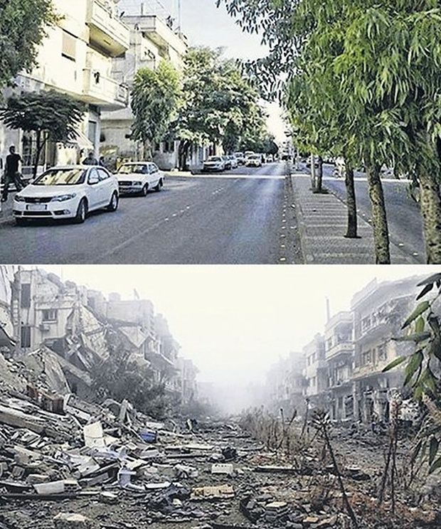 home sweet Homs no longer