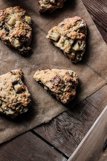 Pear Chocolate Scones by pastryaffair