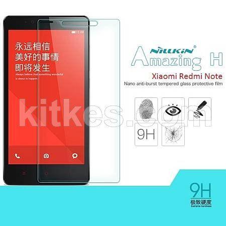 Nillkin Amazing H Screen Glass Protector Xiaomi Redmi Note - Rp 150.000 - kitkes.com