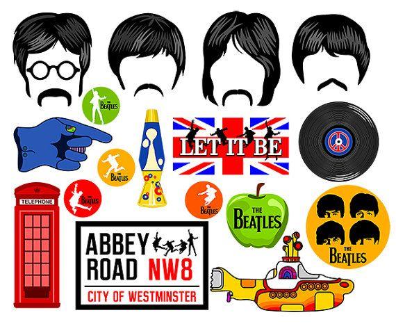Los Beatles foto cabina de apoyos instantáneos descargar