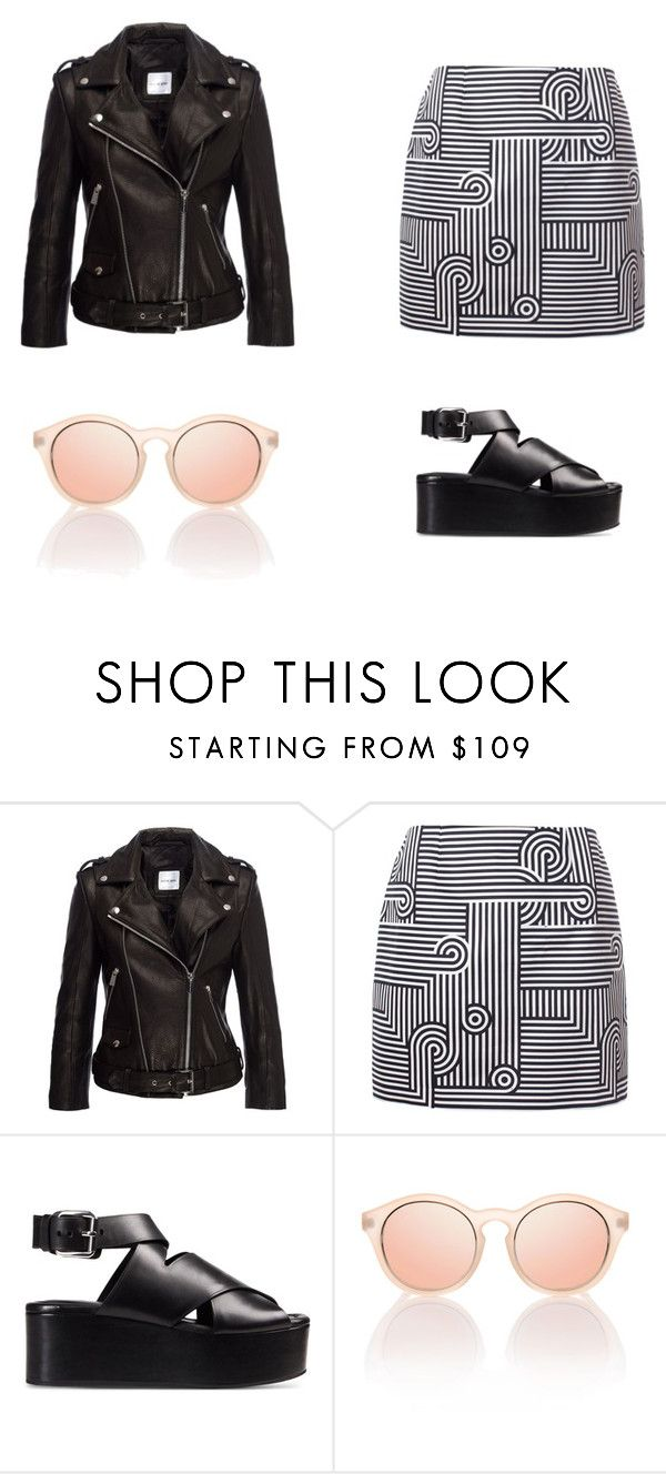 pièces trendy by luisamariafranco on Polyvore featuring moda, Anine Bing, Victoria, Victoria Beckham and Alexander Wang