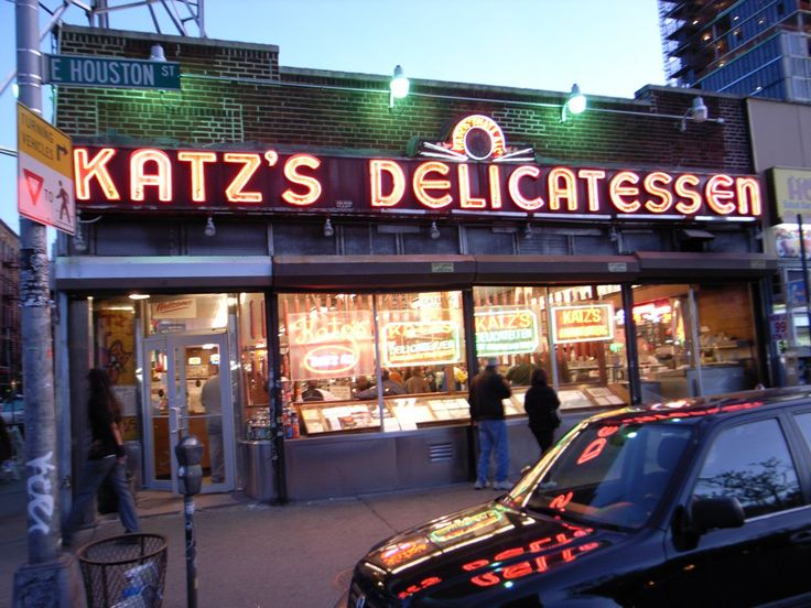 katz new york deli @ 205 E Houston St  New York, NY 10002 #(212) 254-2246 from man vs. food #manvsfood #nyc