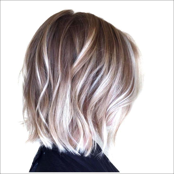 30 besten Balayage Frisuren für kurzes Haar 2018 - Balayage Haarfarbe Ideen