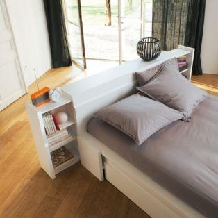 les 21 meilleures images du tableau lit double sur pinterest lits doubles lits avec rangement. Black Bedroom Furniture Sets. Home Design Ideas
