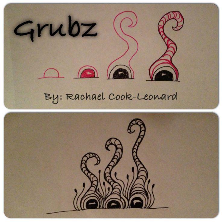 Grubz - zentangle step out