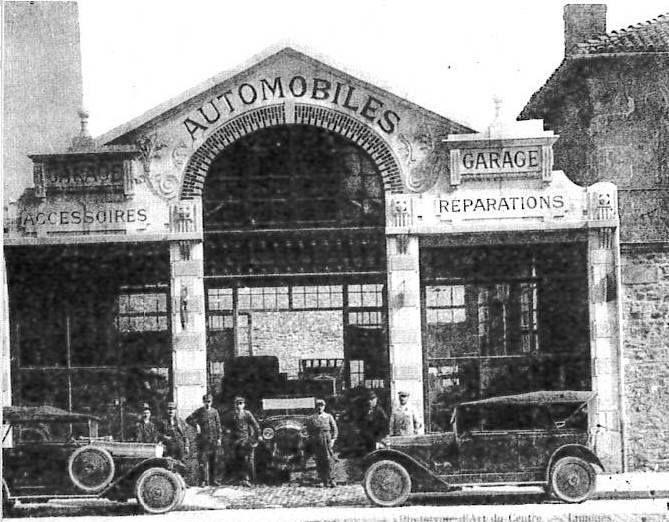 98 best anciens garage mecanique images on pinterest for Garage auto limoges