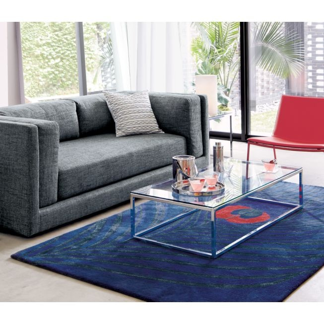 Shop Smart Glass Chrome And Glass Coffee Table. Open Box Construction Of  Slick Polished Chrome Tops Out In Glass Clear, Sheer. Coffee Table Sports  Genes ...