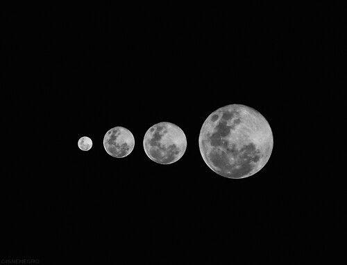 Reflexen about the moon