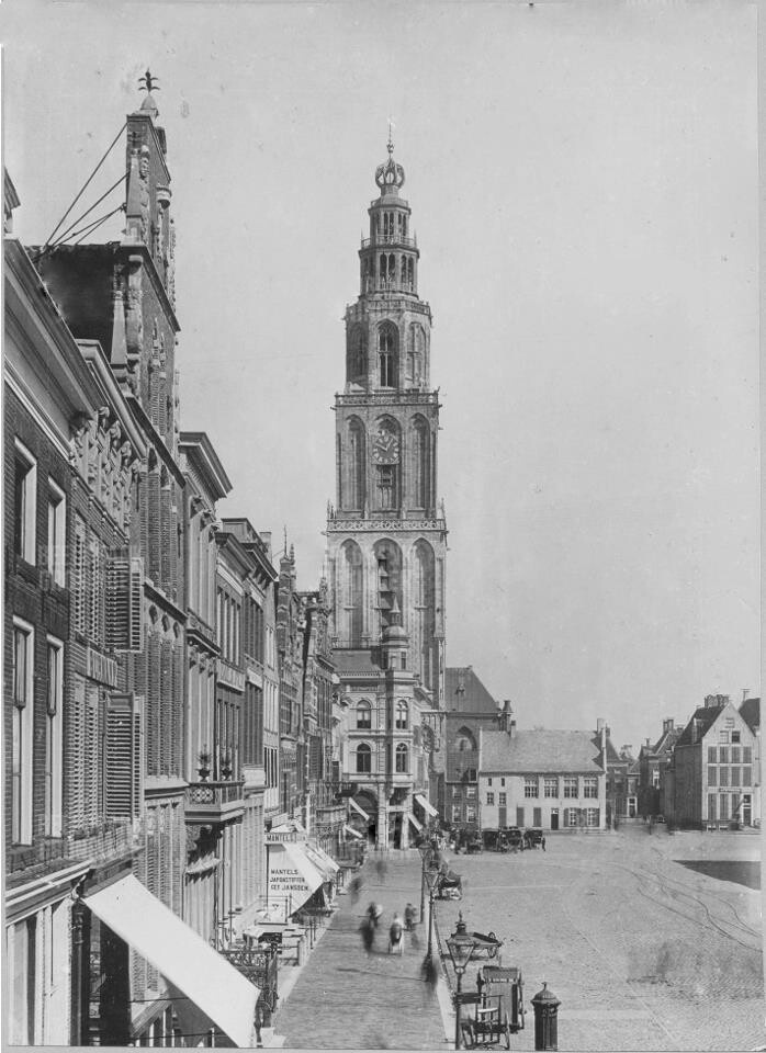 The Martini tower end 19th century
