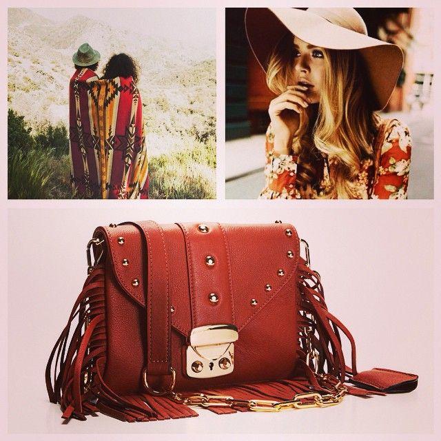 GIANLISA Nina Folk Fringes and Studs Bag #handmade #craftsmanshio #madeinitaly #leathergoods #folk #rock #gianlisa WWW.GIANLISA.COM