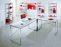 Scrivania ad angolo design bianca AXEL - http://www.siboom.it/confronta-prezzi-tavoli-e-sedie_c139114.html