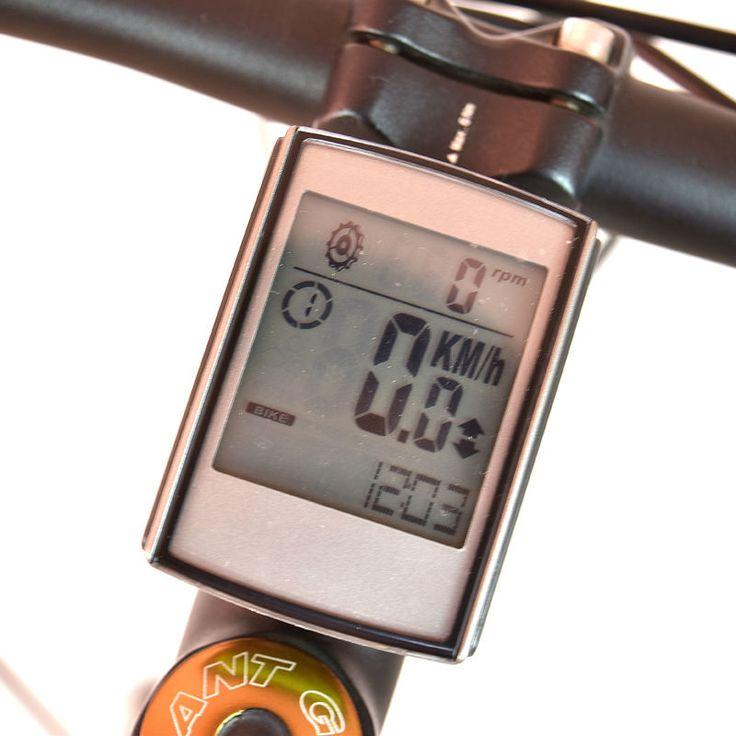 Étanche Sans Fil Ordinateur De Vélo Vélo Vélo Compteur De Vitesse avec Cadence et Moniteur de Fréquence Cardiaque