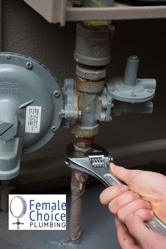 24/7 Install, Replace or Repair any Gas Pipe Work. At Female Choice Plumbing all of our plumbers are qualified gas fitters, who are able to service and replace your gas appliances and pipework. To ensure customer satisfaction and abiding by the local gas authorities we will issue a certificate of compliance, which ensures we have carried out our work correctly, and note any other gas issues that may require further work from existing appliances or pipework.