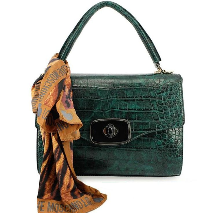 http://vogmoda.com/en/love-moschino-bags-wallets/288-handbag-with-a-big-scarf-and-strap-love-moschino-crocco-green-jc4269.html