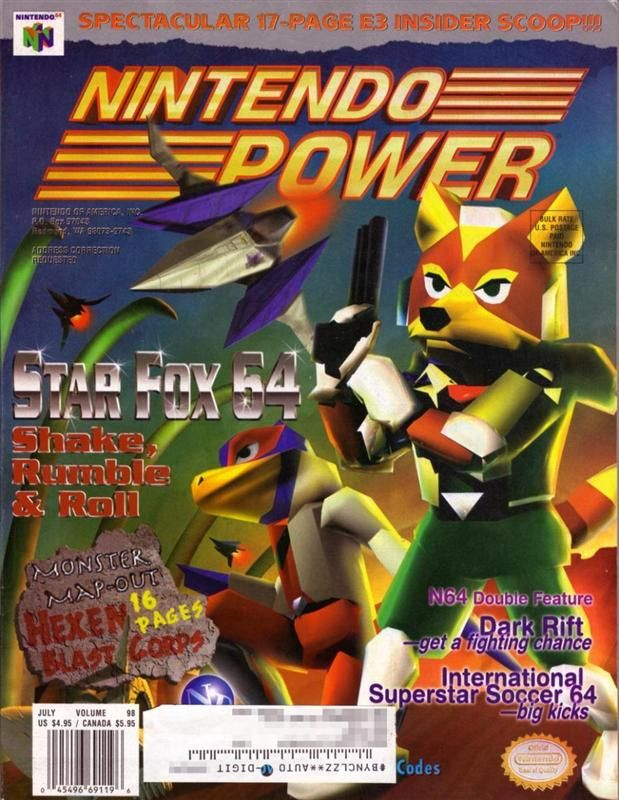 Nintendo Power 1997 | GamingMagz