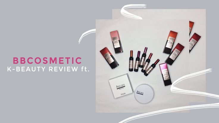 kbeauty review & swatches ft. BBcosmetic | nazrenegutz