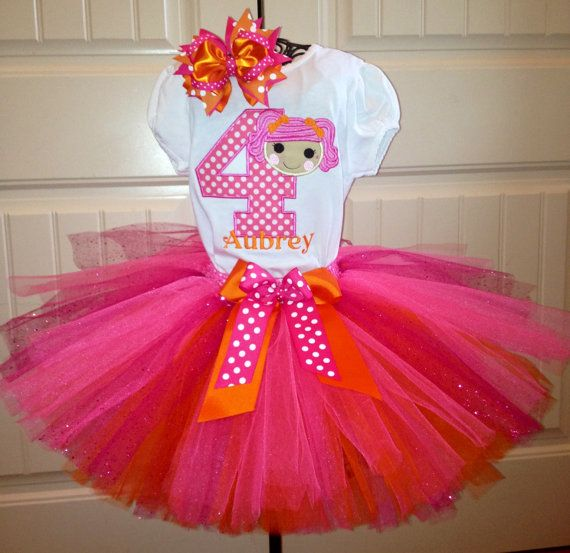 Super darling lalaloopsy tutu outfit by Gracynsbowtique on Etsy, $50.00
