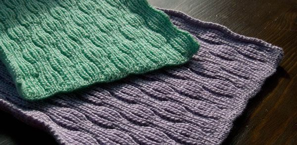 Reversible Knitting Stitch Patterns Free : Passap tuckerboard tuck stitch reversible baby blanket afghan swatch back sid...
