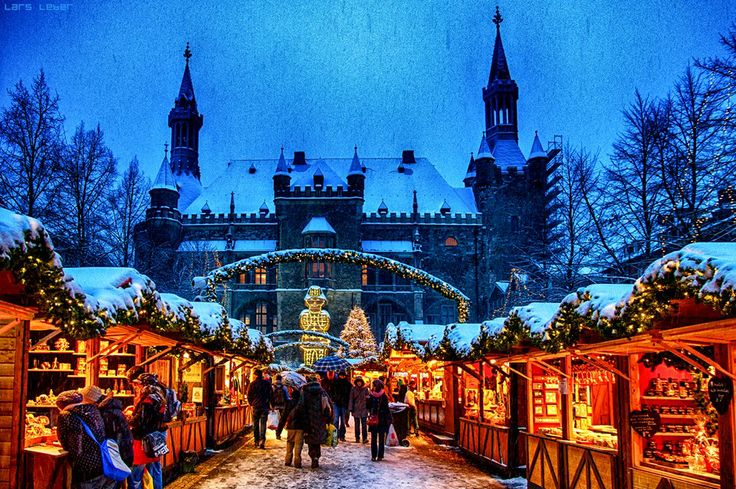 Christmas Market in Aachen, Germany.