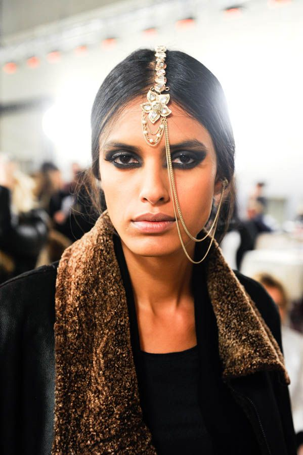 Chanel Paris-Bombay backstage
