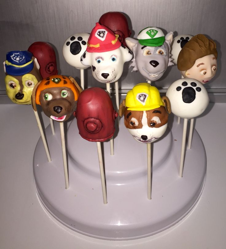 paw patrol cake pops 1000 images about paw patrol cake pops on 6395