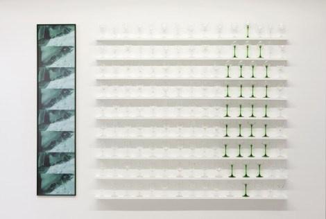 Gina Pane - Partition pour une feuille de menthe - ©Kamel Mennour ©Anne Marchand