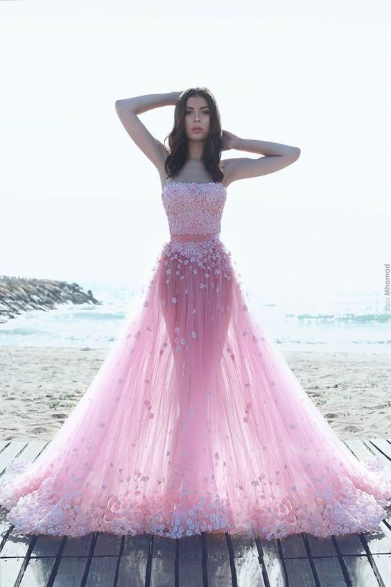 New Prom Dress,Sexy Prom Dress ,Long Prom Dresses,Ball Gown Evening Dress,Pink Evening Dresses