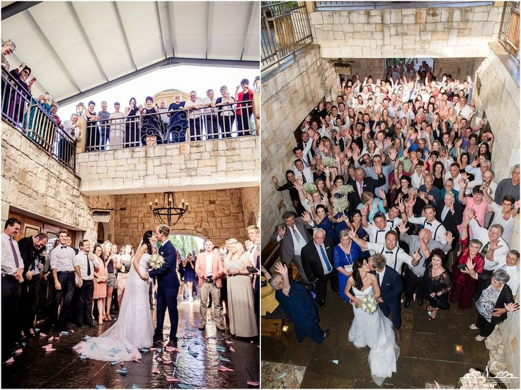 Perfect spot for capturing all you wedding guests in one photo