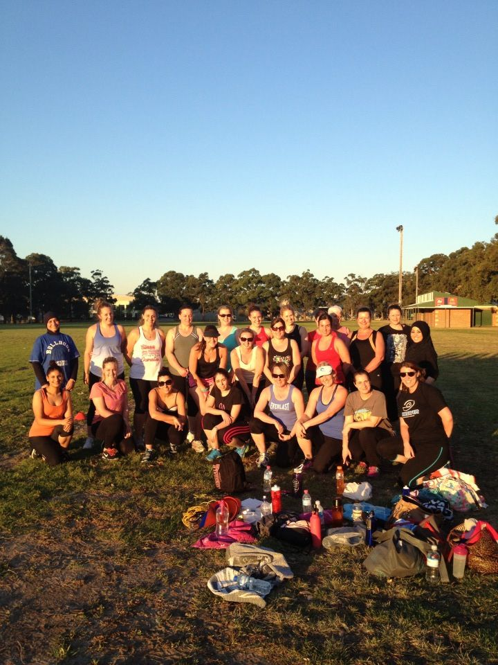 First outdoor session for our Beach Body Boost 2013 #beachbodboost #BBB2013 #fernwood #beverlyhills #womenshealth #womensfitness