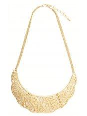 Colier- guler metalic/ Venetian Affair spring collection 2013- metallic necklace