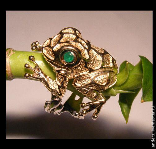 Купить денежная лягушка - лягушка, талисман, талисманы фен-шуй, деньги, золото, кольцо лягушка