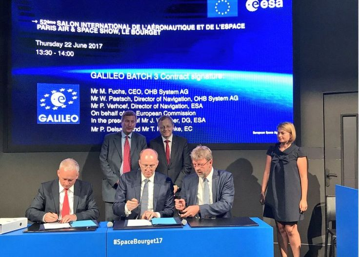 Image copyright                  ESA             Image caption                                      The work order provides leeway should any existing satellites experience failure                               Eight new satellites have been ordered for Galileo –... - #Galileo, #GermanUK, #Maintains, #Success, #Team, #World_News