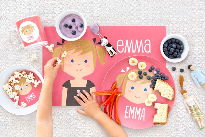 Some of our very favorite personalized gifts for kids of all kinds at Sarah + Abraham. Customize skin tone, hair color, style, eyes...you name it.