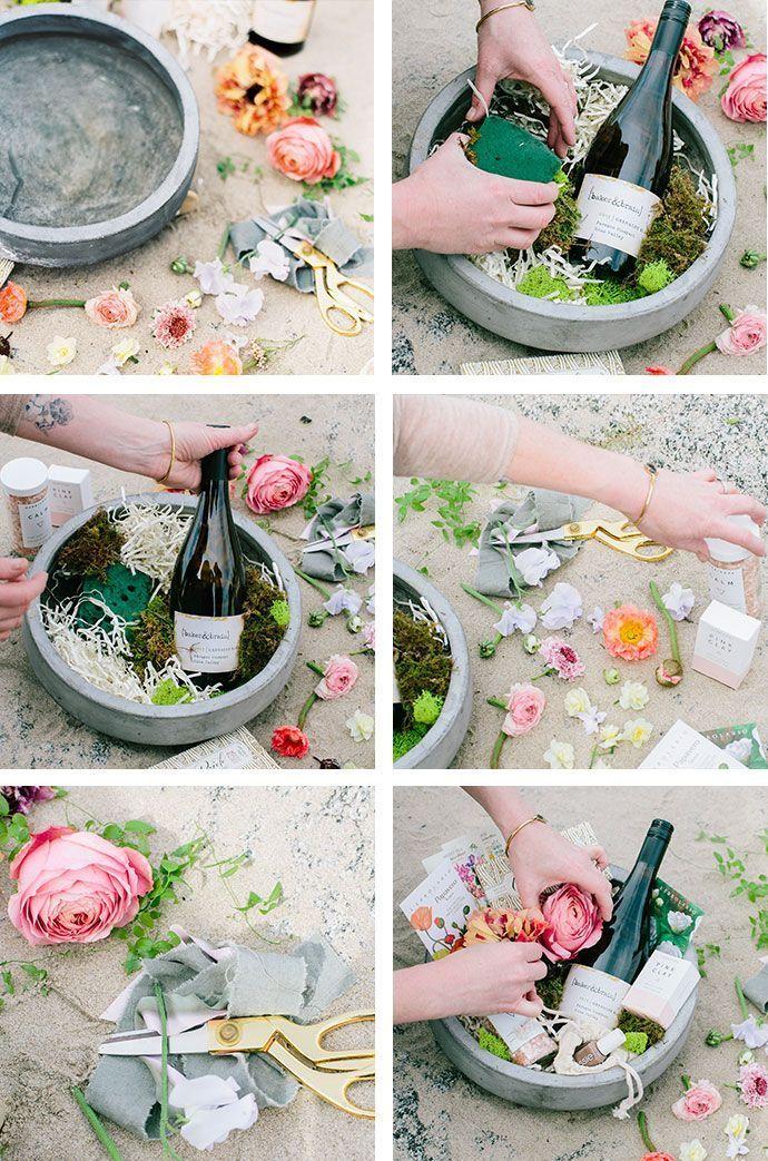 Wie man einen DIY Frühlingskorb macht