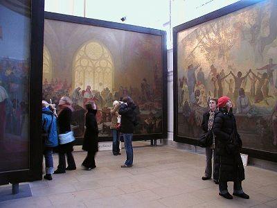 Prague - Mucha's Slav Epic