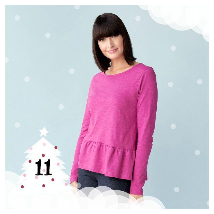 NOSH.FI - Iloista Joulua! -sivulla joulukuussa päivittäin uusia tarjouksia! Kaunis magenta Peplum pusero hintaan 23,90€! Tarjoushinta on voimassa niin kauan kuin tuotteita riittää! Tilaa nyt edustajaltasi tai verkosta. (Available only in Finland)