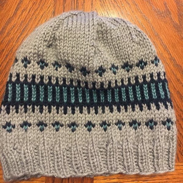 This modern fair-isle hat is a great 'blank canvas' for testing yarns and colour combinations. Use it as a swatch before you make the Clayoquot Cardigan, and you will have an adorable matching set!The samples were knit in Sweet Fiber Yarn Merino Twist DK in shades Paper Birch, Marshland, Something Blue, Sea Glass, Canary and Spanish Coin. A substitute yarn is shown below.