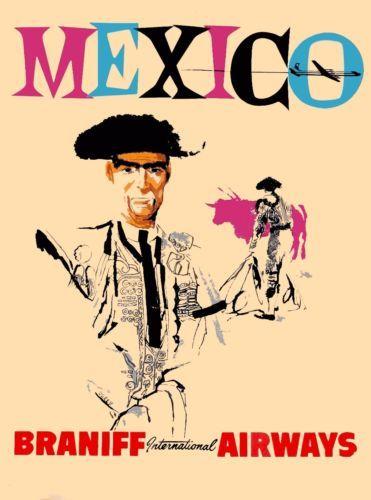 Mexico-Matador-Vintage-Airlines-Mexican-Travel-Advertisement-Art-Poster-Print
