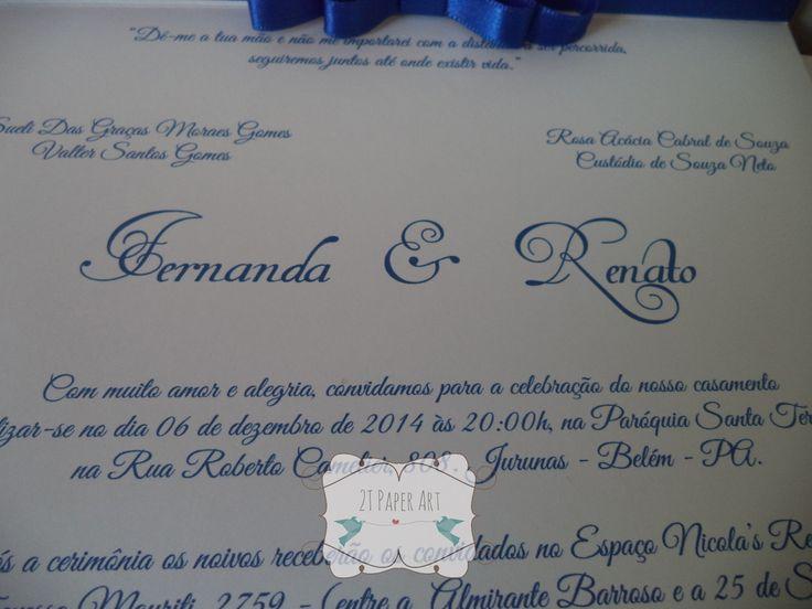 convite-azul-royal-convite-de-casamento-com-laco-channel-duplo