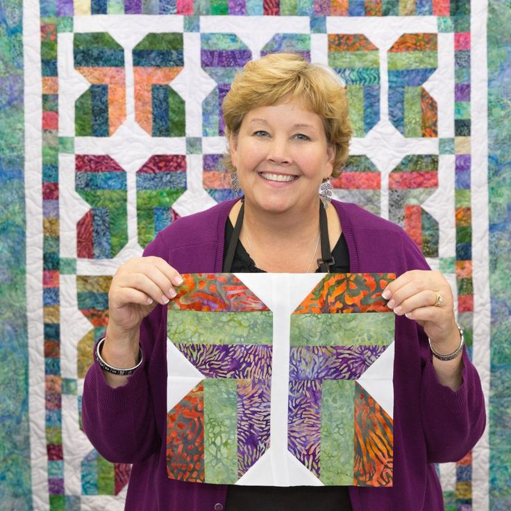 Learn to make this easy butterfly quilt with Jenny of Missouri Star Quilt Co.