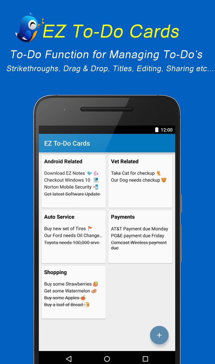 EZ Notes ToDo Cards Dating, Software update, Mobile