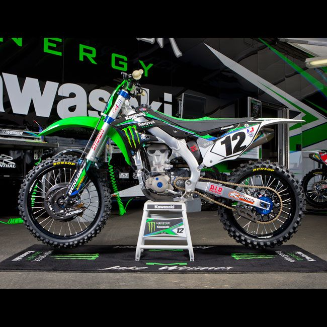 Kit deco villopoto weimer kawasaki monster 2013 replica for Idee deco kart cross