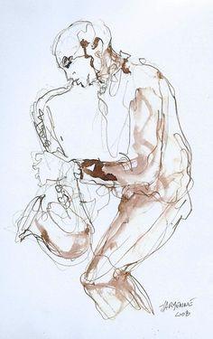 Steve Houben au saxophone
