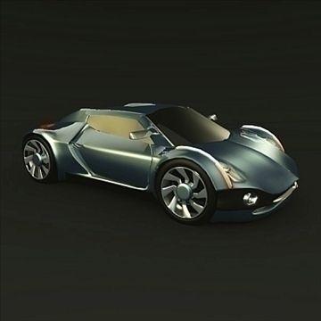 Conceptor X Concept Car 3d Model Flatpyramid Concept Cars Car 3d Model Car