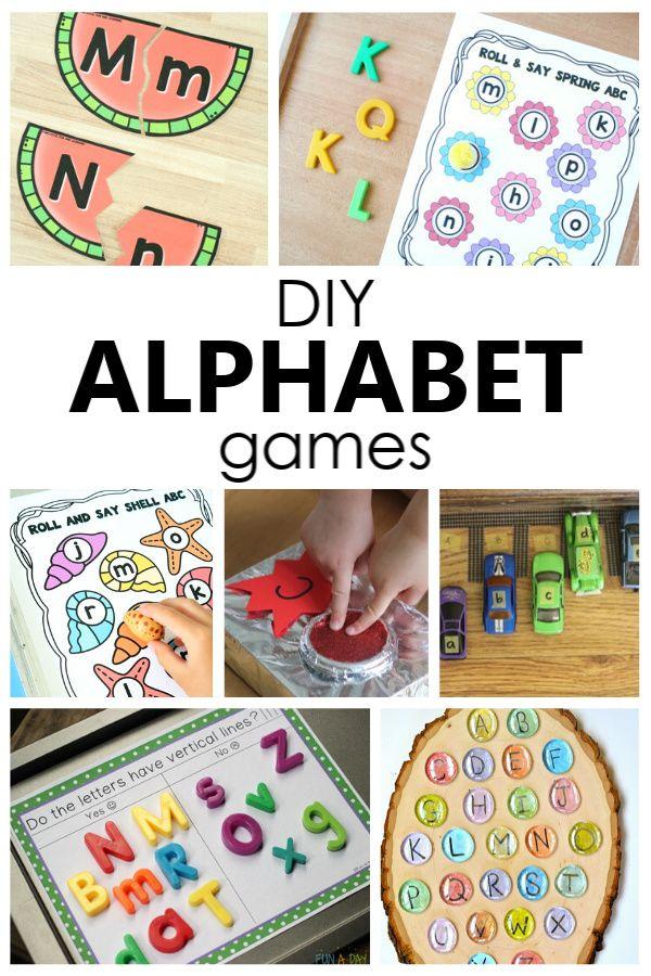 Top 10 Ways To Remember The Abcs Abc Activities Preschool Alphabet Activities Preschool Activities Fun alphabet games for kindergarten