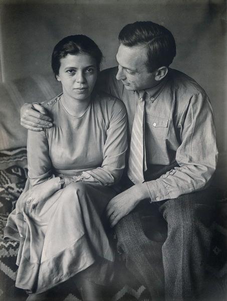 Andre Kertesz and Elizabeth