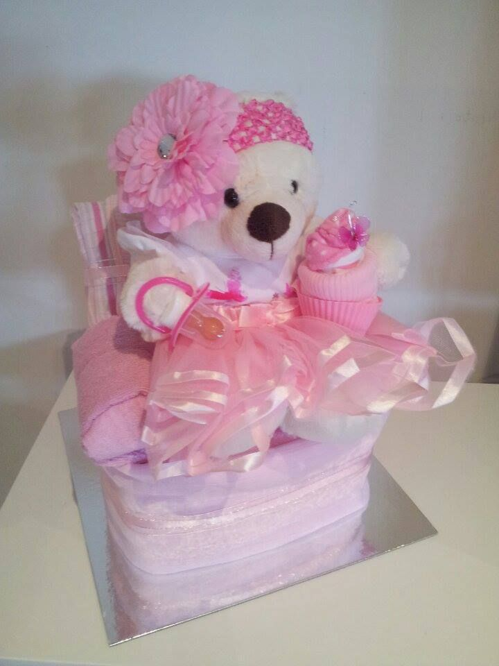 Unique Baby Gifts Baby Nappy Cake- Baby Nappy Armchair