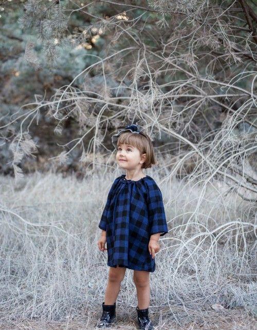 Sukienka wełniana krata LITTLE GIRL   Uszyto dla...   SHOWROOM Kids