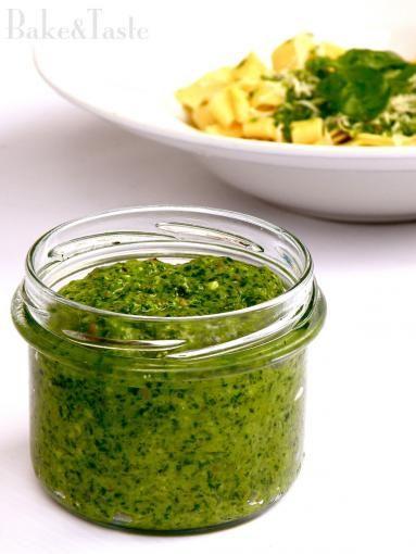 Zdjęcie: Pesto z rukoli i bazylii