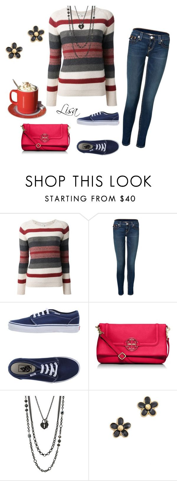 """""""Last day in February"""" by coolmommy44 ❤ liked on Polyvore featuring Joie, True Religion, Vans, Tory Burch, Lane Bryant and Marc by Marc Jacobs"""